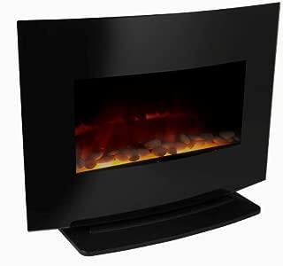 Meridian Point 2-in-1 Wall Mount/Free Standing Electric Fireplace, 1500-watt