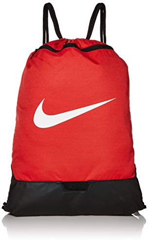 Nike Unisex-Adult Nk Brsla Gmsk - 9.0 (23l) Luggage- Garment Bag, University Red/University Red/White, MISC