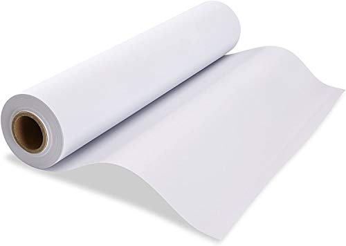 Made in USA White Butcher Paper Roll 17.75' x 1200' (100ft) Ideal for BBQ Smoking Wrapping of Meat of All Varieties, Table Runner, Painting and Craft Projects, Unwaxed, Uncoated,