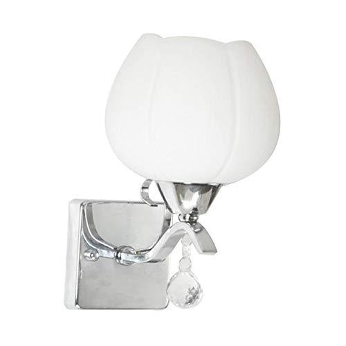 H HILABEE Lámpara de Pared Moderna del Arte del Hierro Lámpara de Pared LED Aplique de Pared Industrial Enchufe