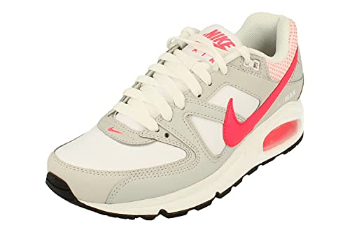 Nike Mujeres Air MAX Command Running Trainers 397690 Sneakers Zapatos (UK 5.5 US 8 EU 39, White Hyper Punch 169)