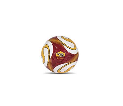 AS Roma Cucito, Pallone Calcio Mini Size 2 Unisex Bambino, Giallo-Rosso-Bianco, s