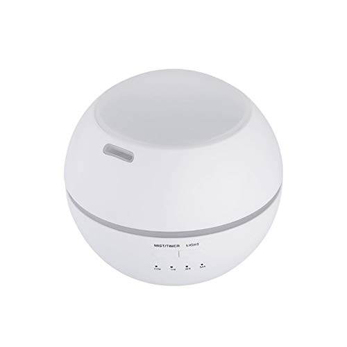 Logo Household creative atmosphere night light mini humidifier aromatherapy machine mumushenghuo (Color : Essential oil, Size : British regulatory)