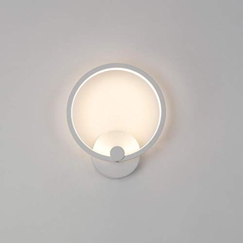 Moderne wandleuchte einfache led wandleuchte schlafzimmer persnlichkeit kreative wandleuchte rundgang mode wandleuchte 20cm