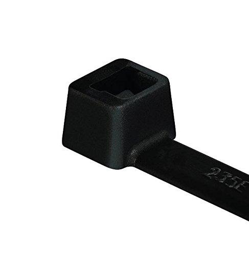 Hellerman 5941070 Tyton Tie Raps, 100 x 2.5 mm, Schwarz
