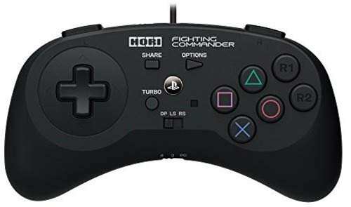 HORI Fighting Commander for PlayStation 4 & 3 Officially Licensed by Sony - PlayStation 4
