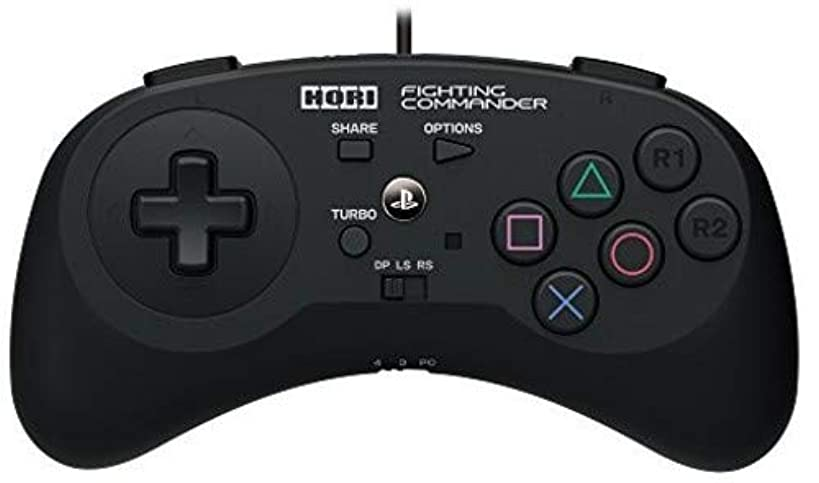 HORI Fighting Commander for PlayStation 4 & 3 Officially Licensed by Sony - PlayStation 4 gup3342623411037
