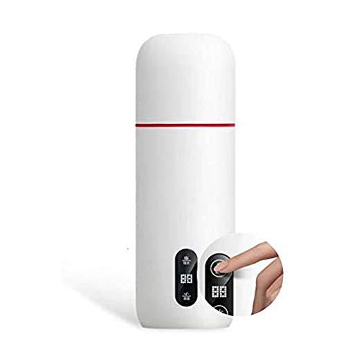 Dongbin MiniWasserkocher Tragbarer Wasserkocher Thermoskanne Kaffee Reisekessel Temperaturregelung Smart Kettle,Klappbarer Wärmeschutz und Thermostatintegration