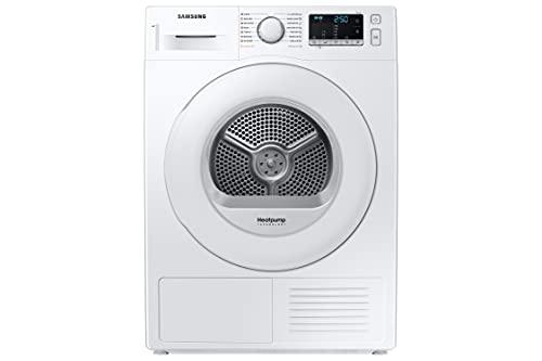 Samsung Wärmepumpentrockner DV70TA000TE/EG, Wechselbarer Türanschlag, Knitterschutz, Optimal Dry, Komfort 2-in-1-Filter, Super Kurz '35, 7 kg, Weiß