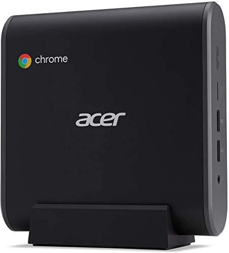 2021 Acer Chromebox CXI3 Mini PC, Intel Celeron 3867U 1.8GHz, 8GB DDR4 RAM, 128GB M.2 SSD, Wi-Fi, Bluetooth, HDMI, Keyboard, Mouse, Chrome OS + NexiGo Wireless Mouse Bundle