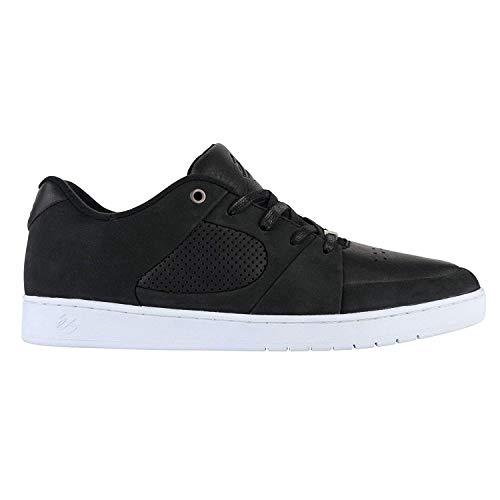 ES Herren Accel Slim Skate-Schuh, Schwarz Weiß Weiß, 40 2/3 EU