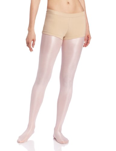 Capezio Women's Low Rise Boy Cut Short,Nude,Large