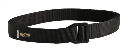 Uncle Mike's Off-Duty and Concealment 2 Layer Nylon Reinforced Instructor's Belt (XX-Large, Black)