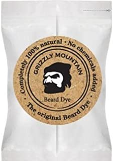 Grizzly Mountain Beard Dye - Organic & Natural Brown Beard Dye