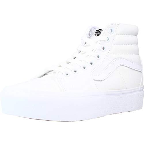 Vans VN0A3TKNQLZ1-070, Zapatillas Unisex Adulto, Color Blanco, 39 EU