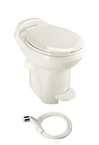 Thetford Aqua-Magic Style Plus RV Toilet with Water Saver / High Profile / Bone - Thetford 34435