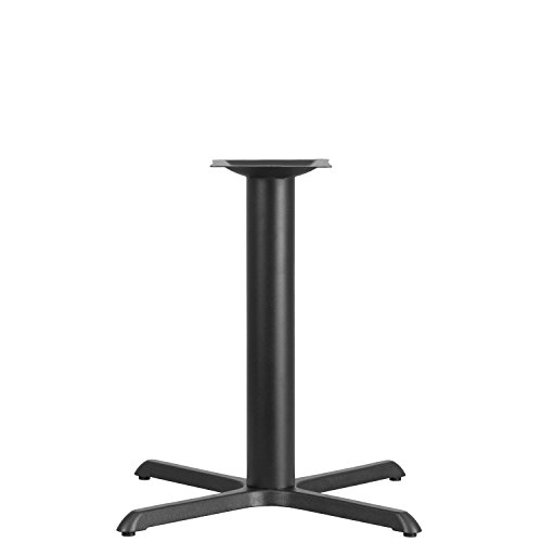 Flash Furniture 33'' x 33'' Restaurant Table X-Base with 4'' Dia. Table Height Column