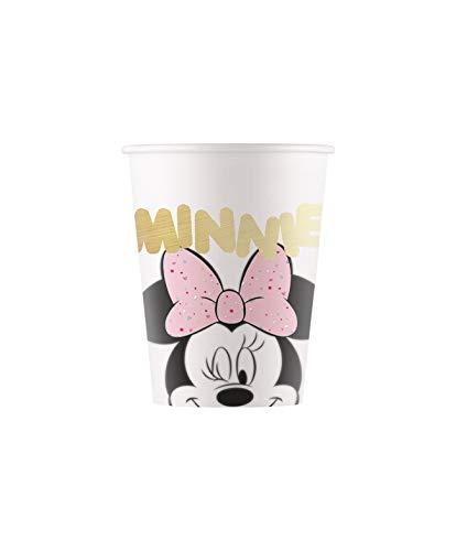 Procos Gobelet papier 200 ml Minnie Party Gem, Multicolore, 5pr88975