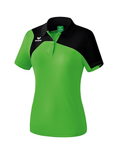 Erima Masters Polo Club 1900 2.0 Femme, Green/Noir, FR : XS/S (Taille Fabricant : 36)