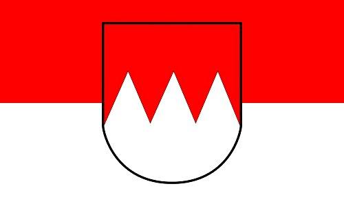 DIPLOMAT Flagge Fränkische | Querformat Fahne | 0.06m² | 20x30cm für Flags Autofahnen