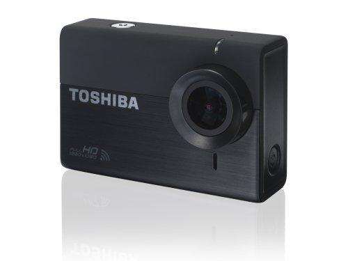 Toshiba PA5150E-1C0K Camileo X-Sports Action Kamera (12 Megapixel, WiFi, HD) schwarz
