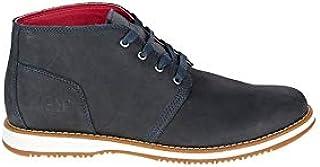 كاتربيلار حذاء متوسط توتس لون اسود للرجال