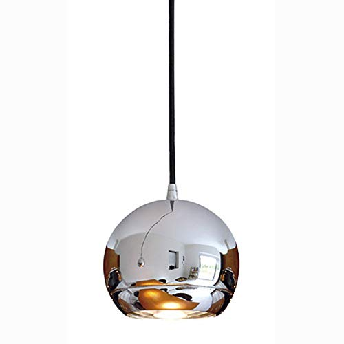 SLV Hängeleuchte LIGHT EYE 150 für 3-Phasen-Stromschiene | Dimmbare Deckenleuchte, Hängelampe, Pendelleuchte für Wohnzimmer, Bar, Esszimmer | Runde Decken-Lampe, Kugel-Design (GU10 ES111, EEK E-A++)