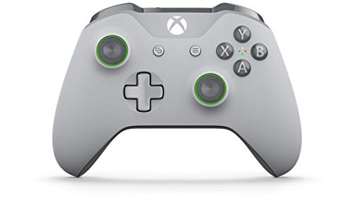 Microsoft Xbox One Wireless Controller (Grey/Green) -...