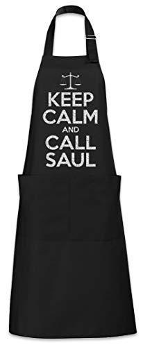 Urban Backwoods Keep Calm And Call Saul Tablier De Cuisine Cuisson Gril BBQ Barbecue