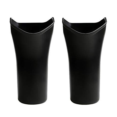 XIMIN 2pc Auto Lastwagen Rücksitz Kopfstütze Regenschirm Aufbewahrungsbox Halter, Wasserdicht Hängendes Auto Interieur Regenschirm Kleiderbügel Tasche Aufbewahrungseimer Für Die Meisten Autos
