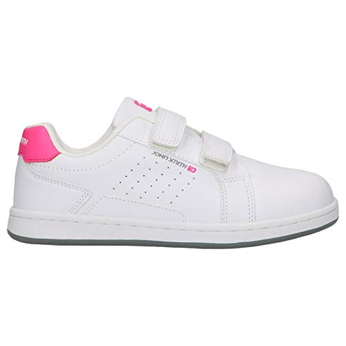 Zapatillas Deportivas John Smith Cocumvel K Blanco y Rosa para niña (33 EU)