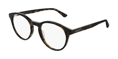 Gucci Brille (GG-0406-O 002) Acetate Kunststoff dunkel havana