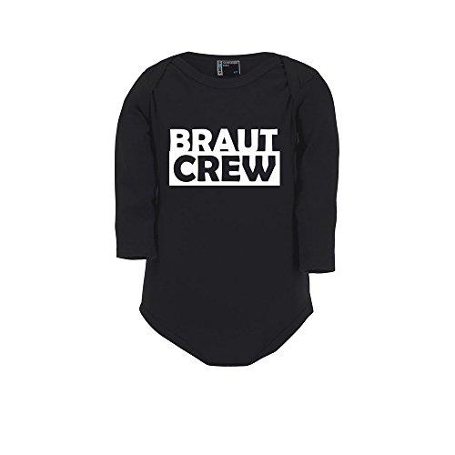 Braut Crew Body pour enterrement de vie de garçon Noir Taille 74