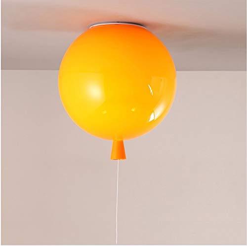 Plafonniers De Ballon Orange, Lampes D'Éclairage Des Escaliers De Chevet Chambre D'Enfant Chambre D'Enfant Bébé, Applique Murale Lamparas E27