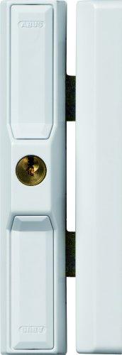 ABUS Dachfenster-Zusatzsicherung DF88 AL0125 - Dachfenstersicherung speziell für Dachenflächenfenster, gleichschließend - ABUS-Sicherheitslevel 8 - 31723 - Weiß