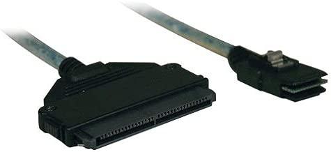 Tripp Lite Internal SAS Cable, mini-SAS (SFF-8087) to 4-in-1 32pin (SFF-8484), 3-ft (1M).(S510-003)