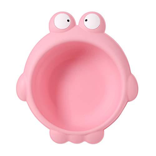 Baby Waschschale, Waschschüssel, Waschwanne, Seifenablage - Frosch rosa