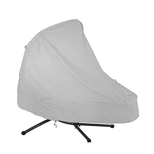 Funda de sillón Colgante para Silla de jardín, Funda Impermeable para Tumbona, para sillas Colgantes de Patio, Protector de Muebles de Patio Anti-UV
