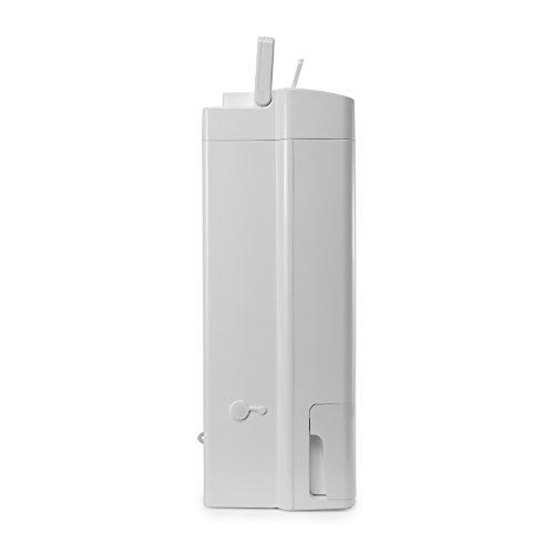 Meaco DD8L Zambezi Desiccant Dehumidifier, 8 Litre, 45/350/650 W, White