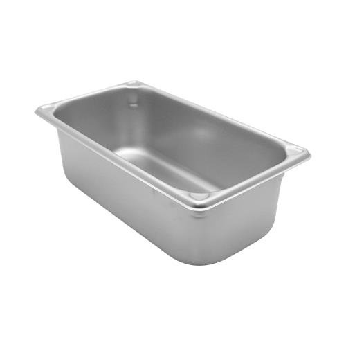 """Vollrath 4"""" Deep Super Pan V Stainless Steel Third-Size Steam Table Pan"""