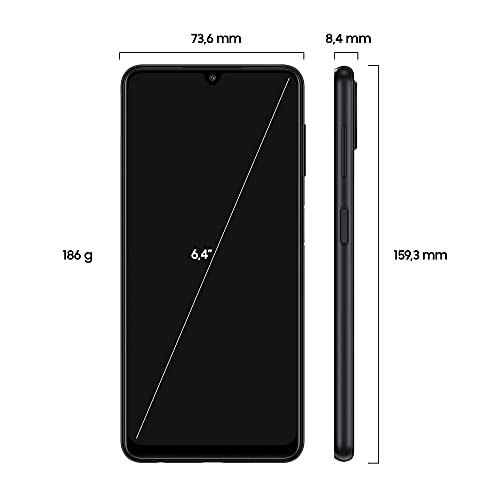 Samsung Galaxy A22 Smartphone ohne Vertrag 6.4 Zoll 128 GB Android Handy Mobile Black - 2