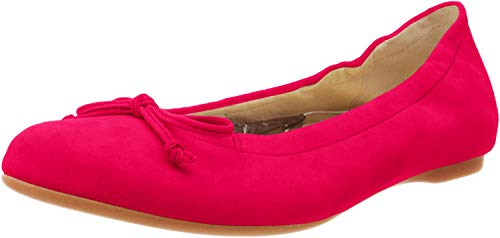 Gabor Shoes Damen Casual Geschlossene Ballerinas, Pink (Fuxia 13), 42.5 EU