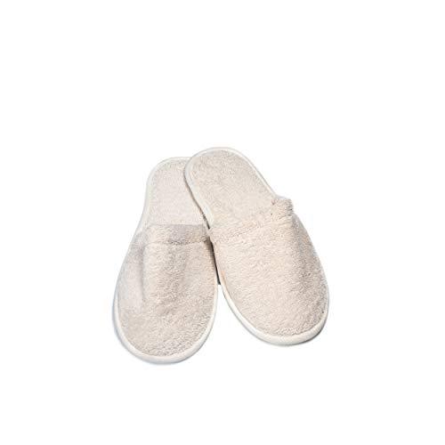 Eco Bath Londen natuurlijke handdoeken slippers (L), ECOB047B