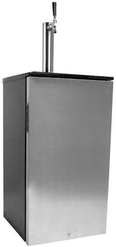 EdgeStar KC1000SS Craft Brew NEW before selling Kegerator wholesale for and Barrel 1 6 Cornel