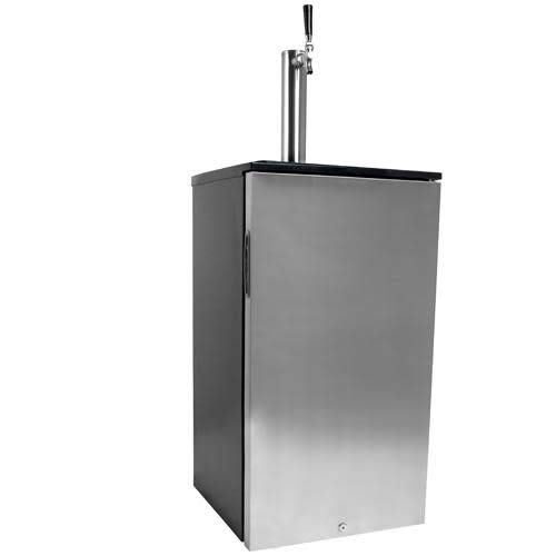 EdgeStar KC1000SS Craft Brew Kegerator for 1/6 Barrel and Cornelius Kegs
