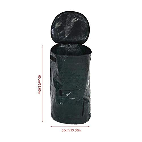 Amazing Deal Yard Waste Bags 2 Sizes Garden Compost Bag Organic Waste Kitchen Yard Compost Bag Envir...