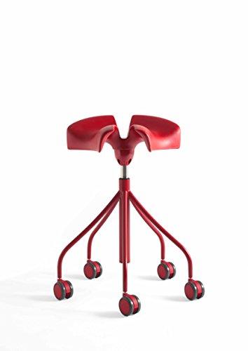 Taburete Binaria (Rojo)