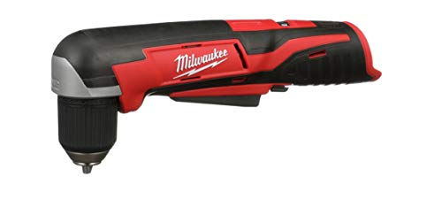 Product Image 5: Milwaukee 2415-20 M12 12-Volt Lithium-Ion Cordless Right Angle Drill, 3/4 In, Bare Tool, Medium