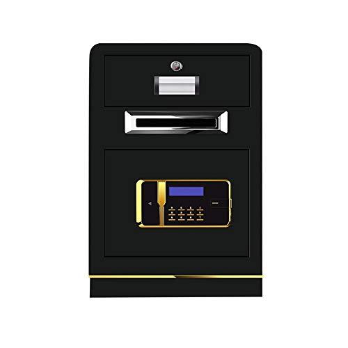 Lzcaure-OFF Safe Coin-operated Cash Register Office All-steel Safe Commercial Money Box Hotel Safe Cash Register (Color : C, Size : 70x43*38cm)