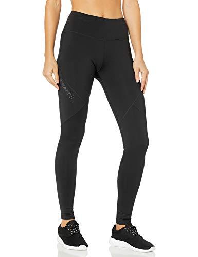 Craft Damen Essential Warm Training Soft Jersey Strumpfhose, Schwarz, Größe S